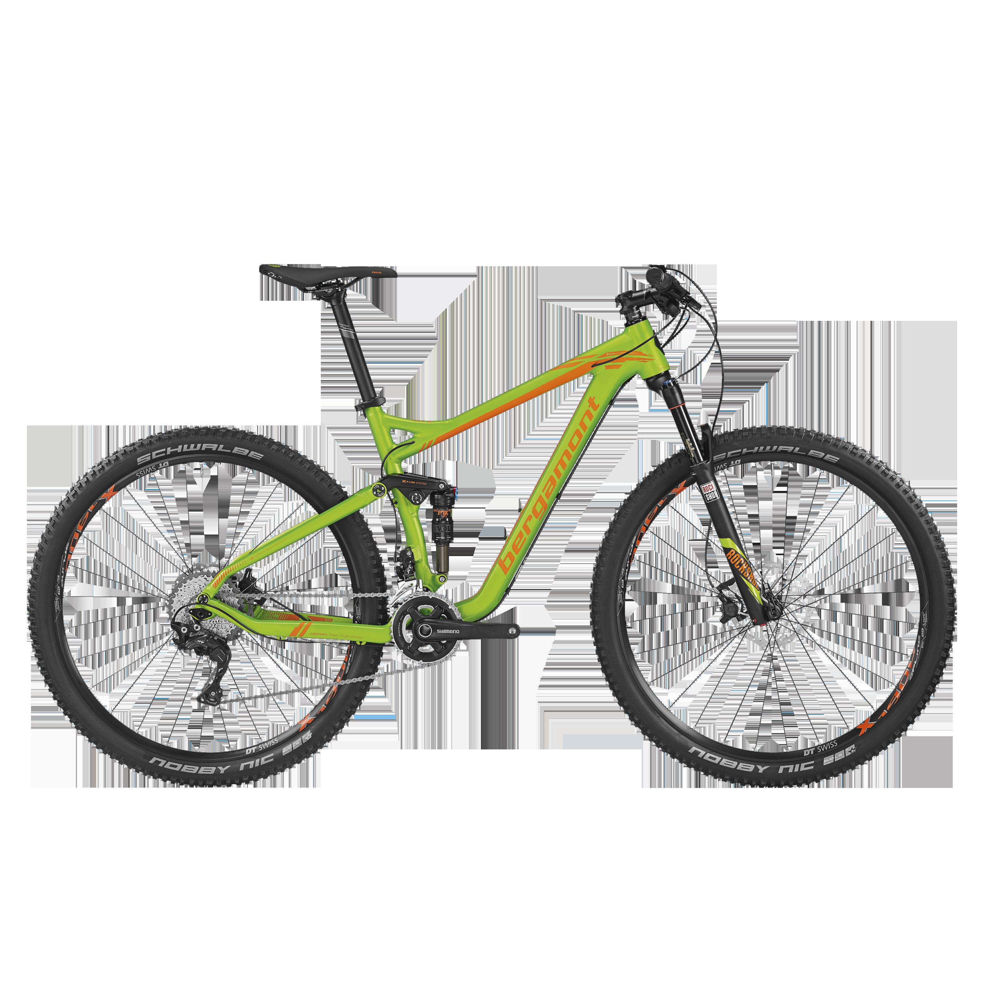 Contrail LTD Fullsuspension Mountainbike