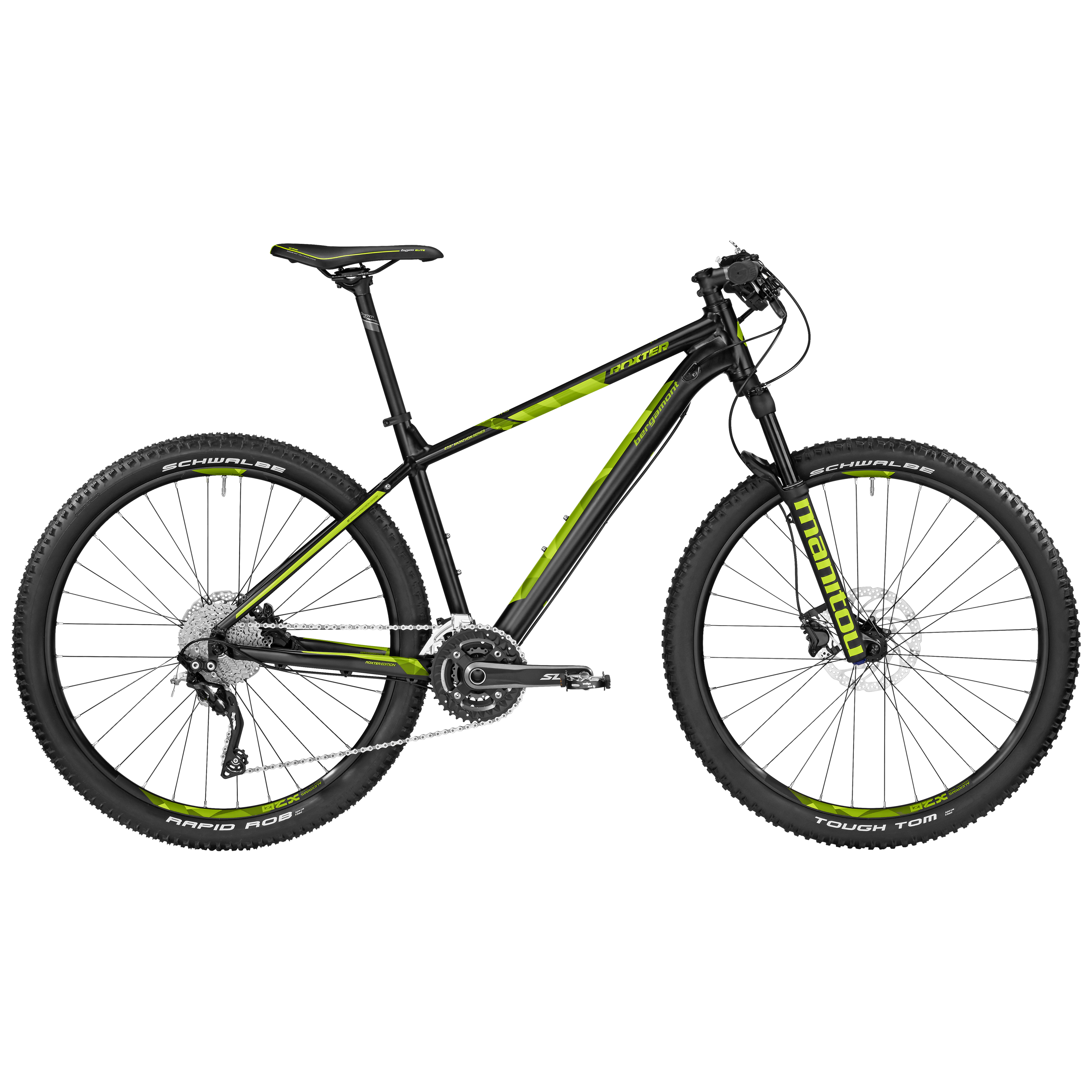 Roxter Edition black/lime Mountainbike